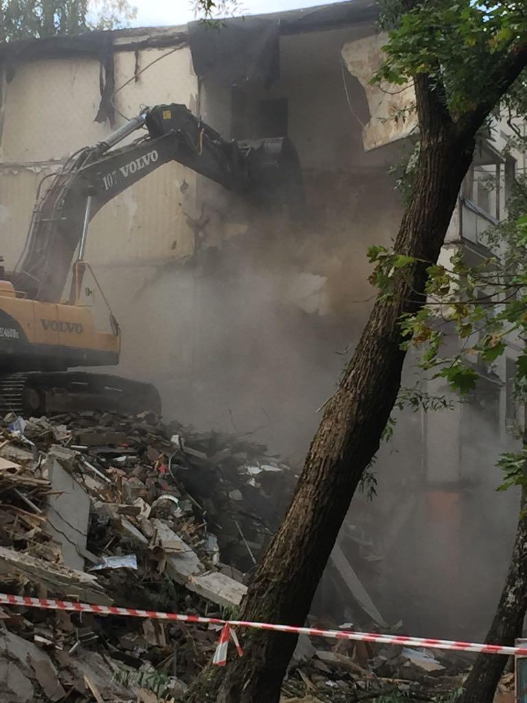 снос пятиэтажек реновация